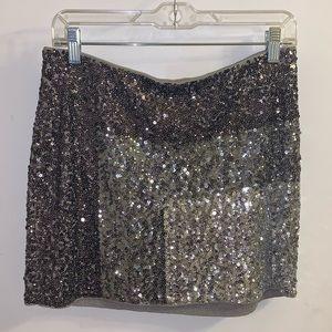 Sequin Express Mini Skirt